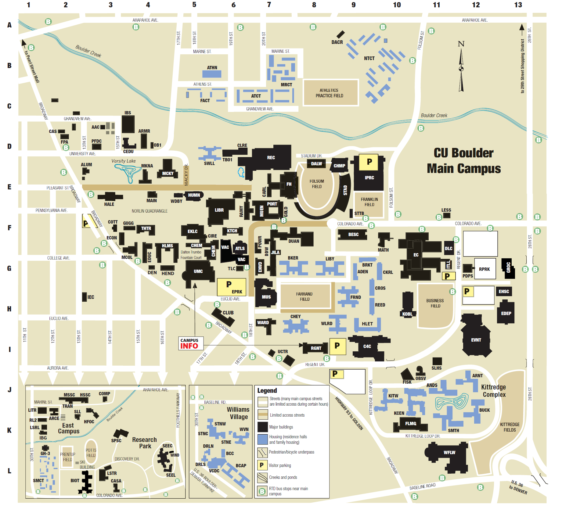 Cu Parking Map Cu Boulder Parking Map | compressportnederland Cu Parking Map
